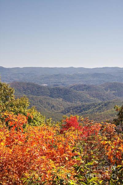 Photograph - North Carolina Mountains In Autumn by Jill Lang