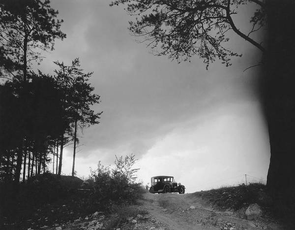 Approach Wall Art - Photograph - North Carolina Scenic View by Underwood Archives