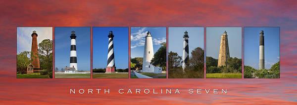 Ocracoke Lighthouse Photograph - North Carolina Seven by Greg Mills
