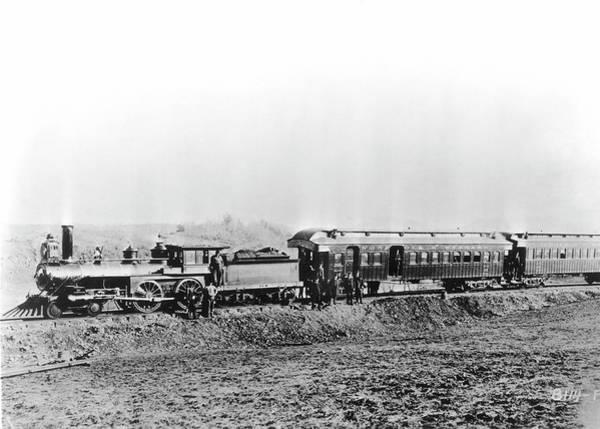 Ivanhoe Photograph - North Carolina Train by Granger