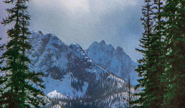 Photograph - North Cascades Inspiration by Omaste Witkowski