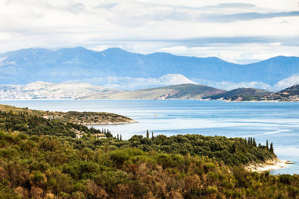 Photograph - North Corfu And Albania by Paul Cowan