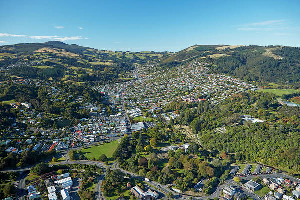 Wall Art - Photograph - North East Valley, Dunedin, South by David Wall