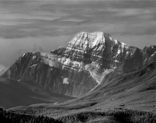 Photograph - 103819-north Face Mt. Edith Cavell by Ed  Cooper Photography