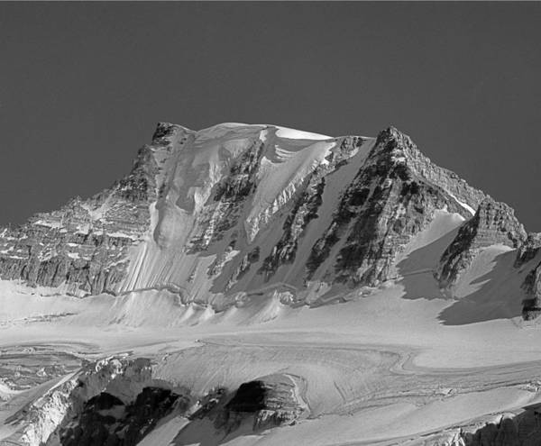 Photograph - 203516-bw-north Face Mt. Fay by Ed  Cooper Photography