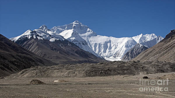 Photograph - North Face Of Everest by Hitendra SINKAR