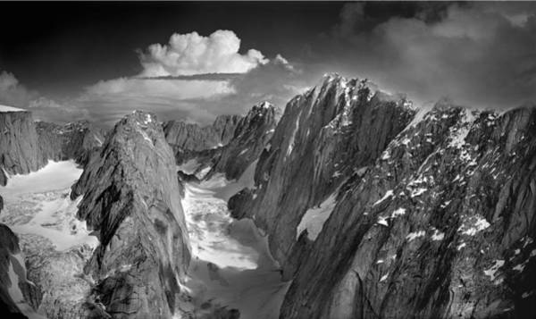 Photograph - 101571-north Middle And South Triple Peaks, Ak by Ed  Cooper Photography