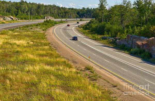 Photograph - North Ontario Highway by Les Palenik