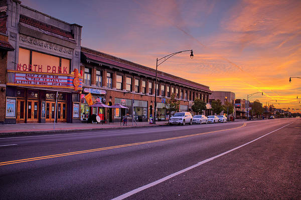 Wny Wall Art - Photograph - North Park Theatre by Chris Bordeleau