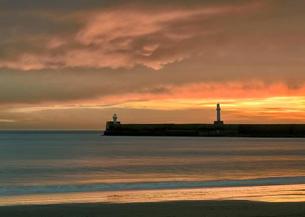 Wall Art - Photograph - North Pier Dawn by Dave Bowman