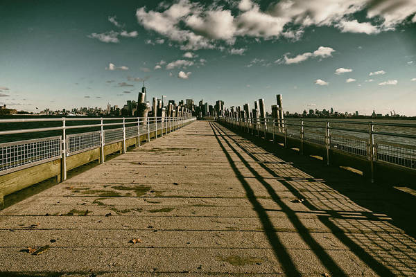 North Pier Liberty Island Art Print