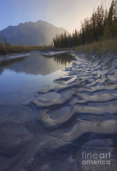 Photograph - North Saskatchewan River Backwater by Dan Jurak