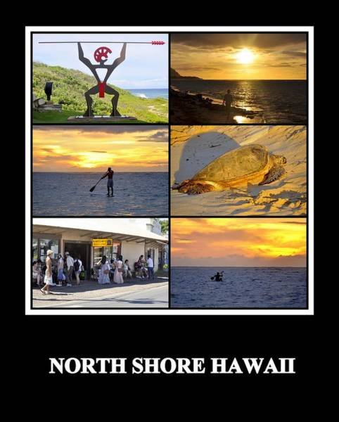 Photograph - North Shore by AJ  Schibig