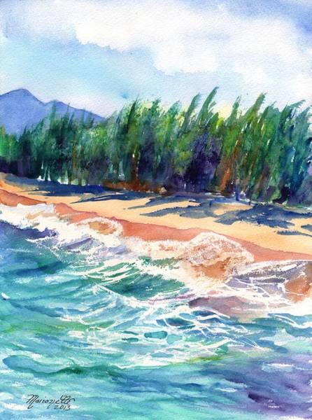 North Shore Beach 2 Art Print