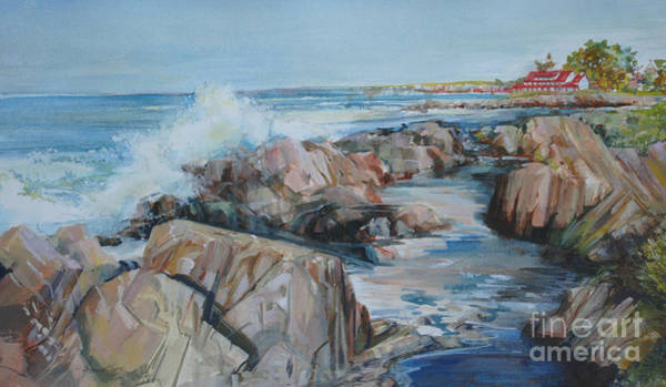 Painting - North Shore Surf by P Anthony Visco