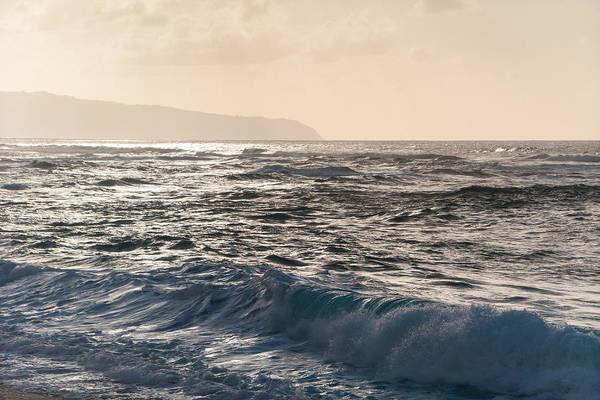 North Shore Waves Art Print