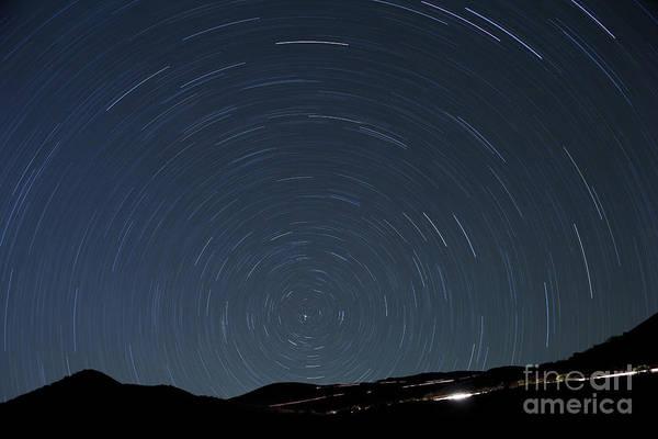 Photograph - North Star Trails by Charmian Vistaunet