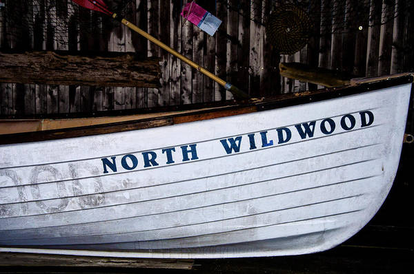 Lifeboat Photograph - North Wildwood Lifeboat by Bill Cannon