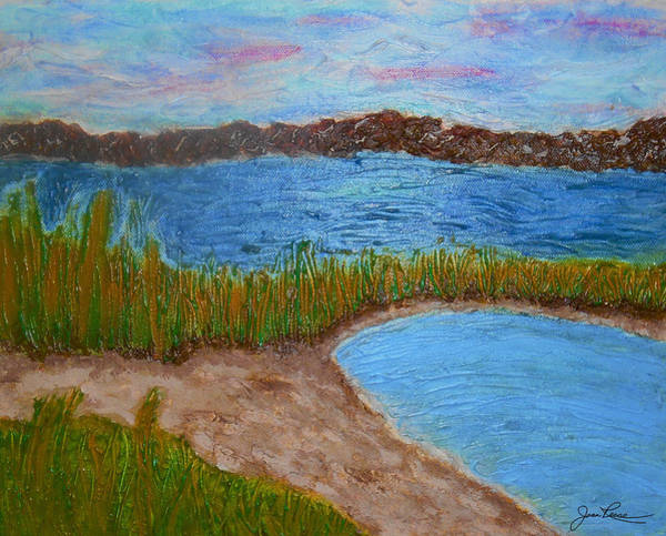 Painting - North Wildwood   New Jersey by Joan Reese