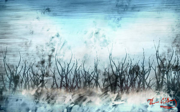 Ice Plant Digital Art - North Winds by Thomas OGrady