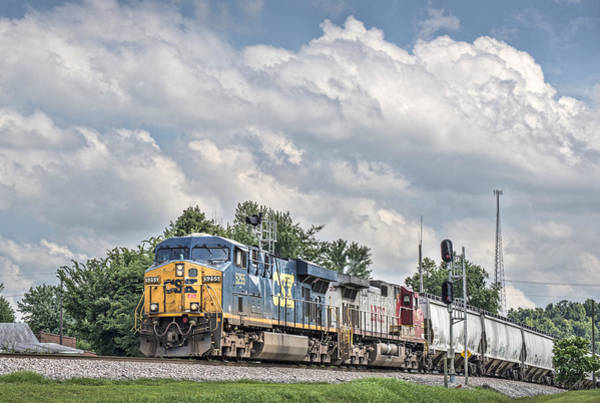 Subdivision Photograph - Northbound At Mortons Junction by Jim Pearson