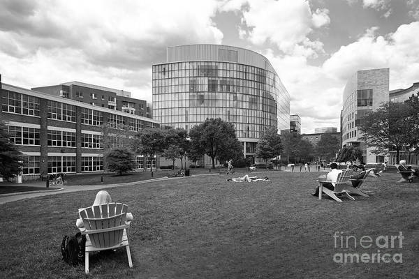 Photograph - Northeastern University Behrakis Health Sciences Center by University Icons