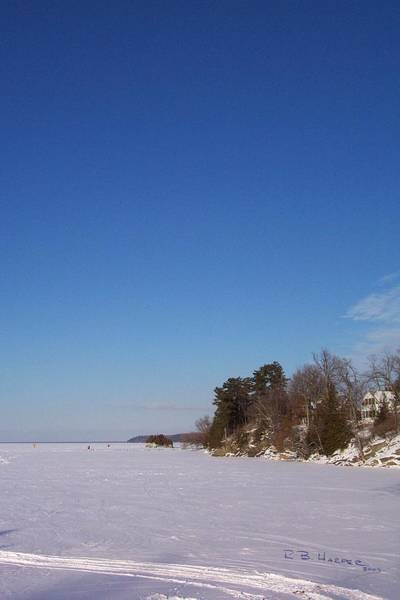 Photograph - Northerly  On Missisquoi Bay by R B Harper