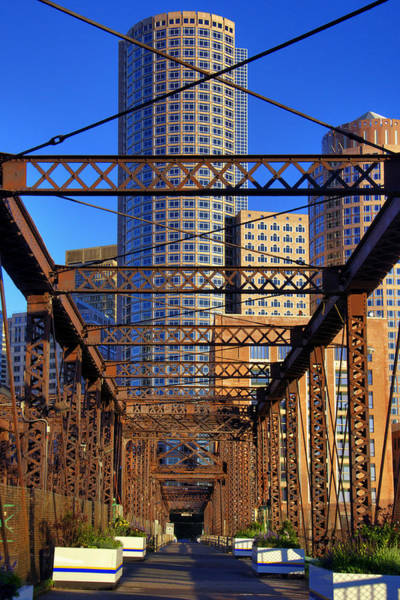 Photograph - Northern Avenue Bridge 2 by Joann Vitali