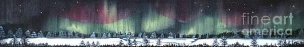 Painting - Northern Lights by Monika Shepherdson