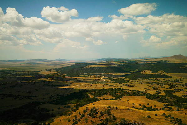 Swan Valley Photograph - Northern New Mexico From The Capuchin Volcano by Jeff Swan