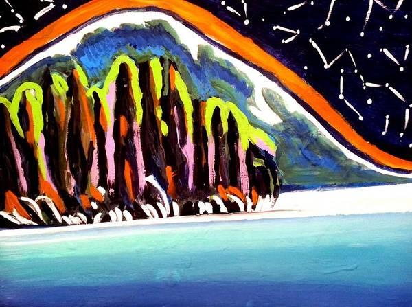 Painting - Northern Stars by Nikki Dalton