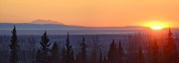 Wall Art - Photograph - Northern Sunrise by Christian Heeb