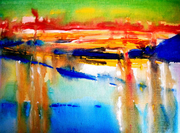 Painting - Northern Sunset by Nikki Dalton