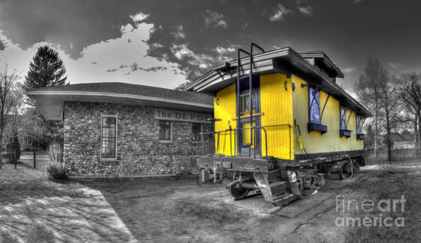 Depot Photograph - Northport Depot by Twenty Two North Photography