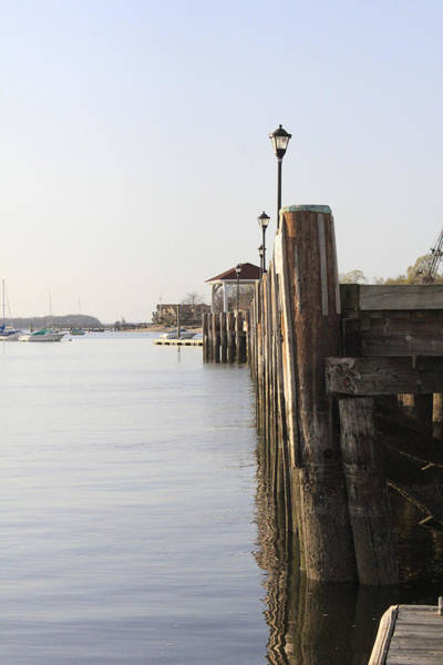 Photograph - Northport Dock A Different Perspective by Susan Jensen