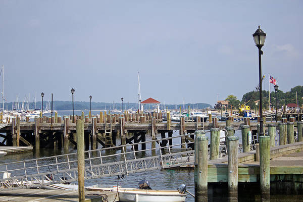 Photograph - Northport Dock Long Island New York by Susan Jensen