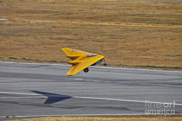 Runway Model Photograph - Northrop N-9m Flying Wing, Chino by Scott Germain