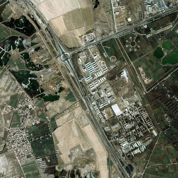 Iraqi Photograph - Northwest Baghdad by Geoeye/science Photo Library