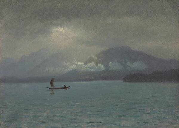 Painting - Northwest Coast by Albert Bierstadt