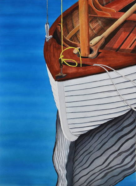 Port Townsend Painting - Northwest Reflection by Stephen Abbott