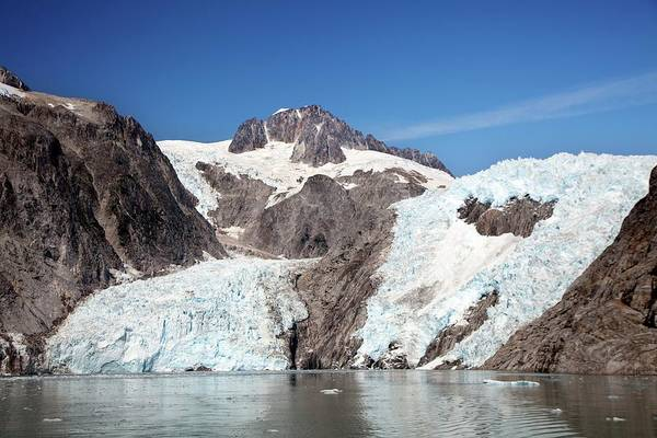 Us West Coast Photograph - Northwestern Glacier by Jim West