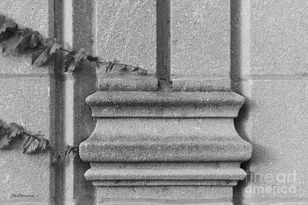 Photograph - Northwestern University Deering Library Detail by University Icons