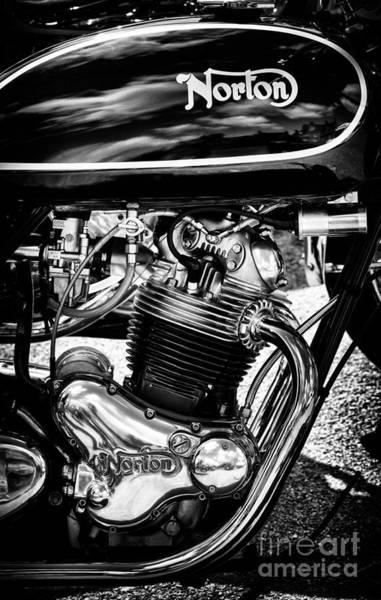 Photograph - Norton 850cc Commando by Tim Gainey