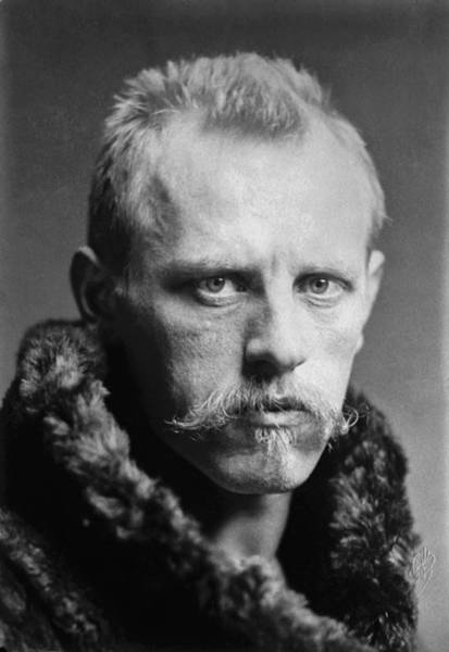 Wall Art - Photograph - Norwegian Fridtjof Nansen by Underwood Archives