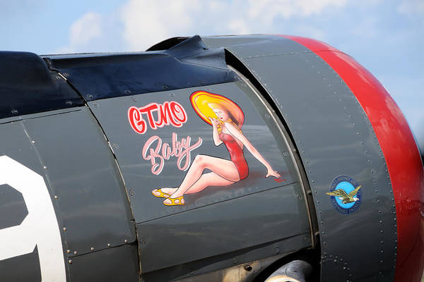 Photograph - Nose Art by John Kiss