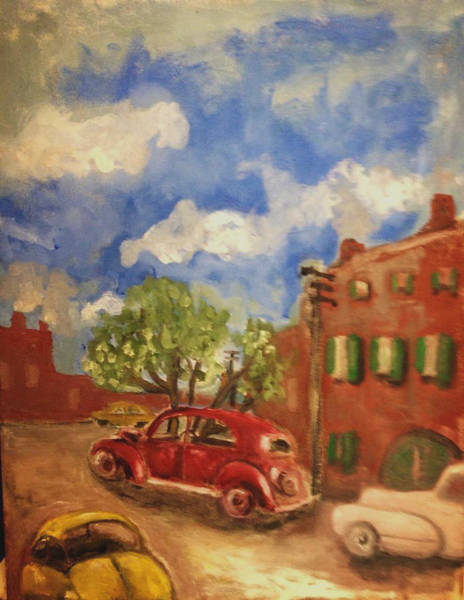 Painting - Nostalgia On The Hill by Dilip Sheth