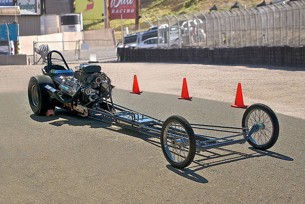 Wall Art - Photograph - Nostalgia 'top Fuel' Dragster by Dave Koontz