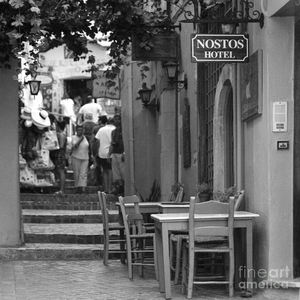 Photograph - Nostos Hotel In Chania by Paul Cowan