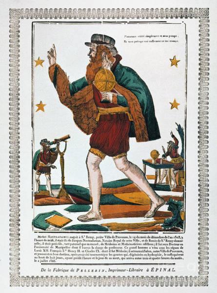 Wall Art - Photograph - Nostradamus (1503-1566) by Granger