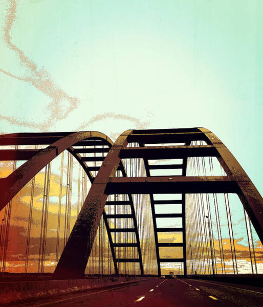 The Mac Wall Art - Digital Art - Not One But Two Arches by Lena Wilhite